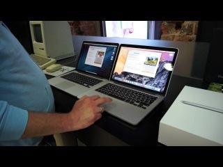 Обзор ноутбука MacBook Pro с дисплеем Retina и тачпадом Force Touch