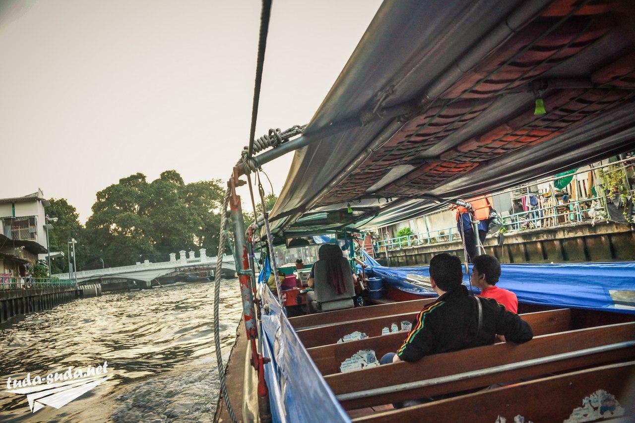 Каналы Бангкок фото