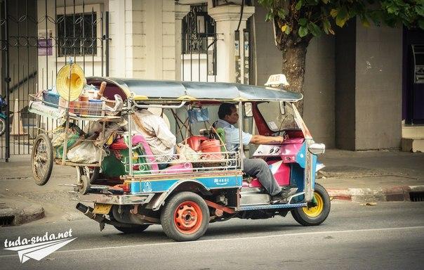 тук-тук таиланд