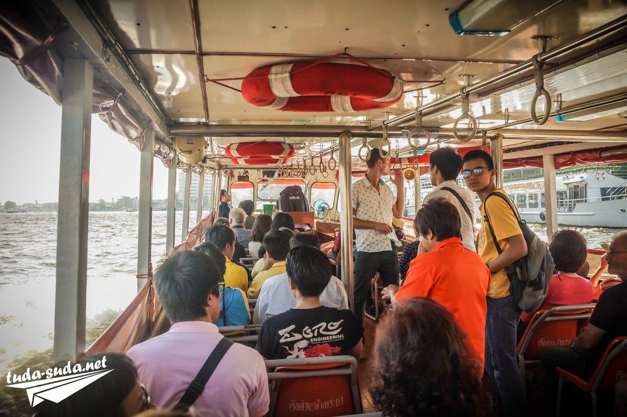 Речной трамвайчик в Бангкоке