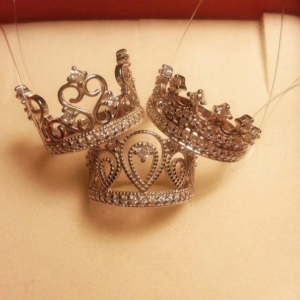 кольца корона соколов