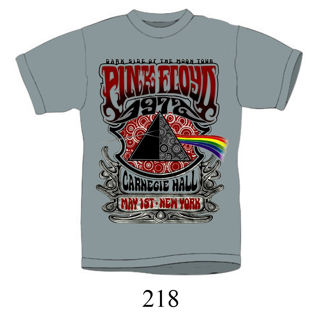 Impact Pink Floyd 1972 Dark Side of the Moon Tour TShirt