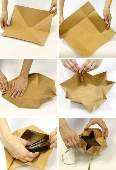 Упаковать подарок коробку своими руками