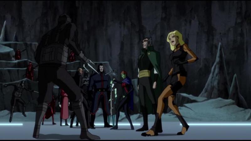 [HD] Young Justice | Юная лига справедливости | Молодая справедливость, s02e19, сезон 2 серия 19