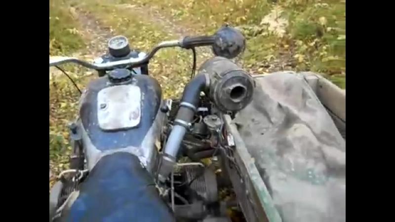 Полноприводный мотоцикл М 67 Урал (видео обзор)(HD)