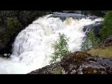 Водопад Кольский п-ов