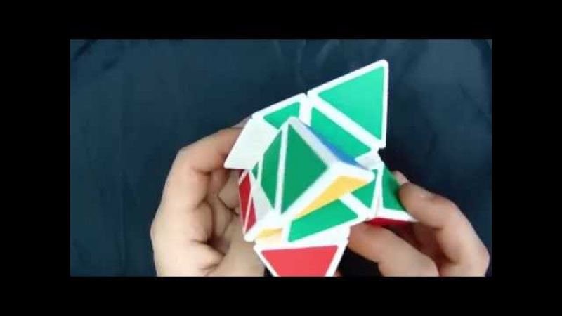 Обзор головоломки Мастер Пираморфикс Фишера Yongjun