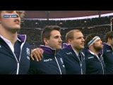 Scottish national anthem, France v Scotland, 07th Feb 2015
