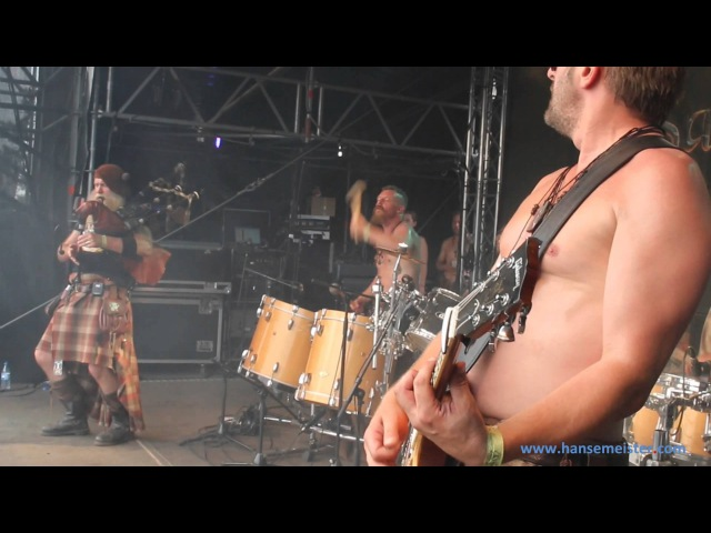 Saor Patrol at Wacken 2014! With the Song Three wee Jigs