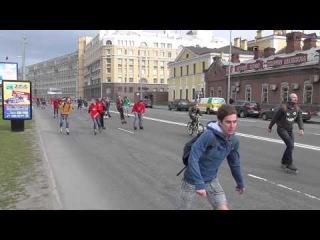 Роллер пробег 16.05.2015 Петербург