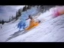 ♦ Спуск на Лыжах с Красками Холи Русский фестиваль