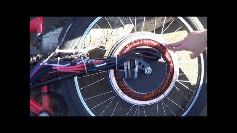 Мотор Колесо Дуюнова без магнитов - уникальный асинхронный электромотор в мире.
