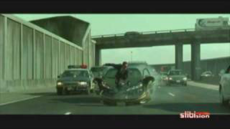 Matrix Reloaded - Car chase - Music Video (widescreen audio HQ)