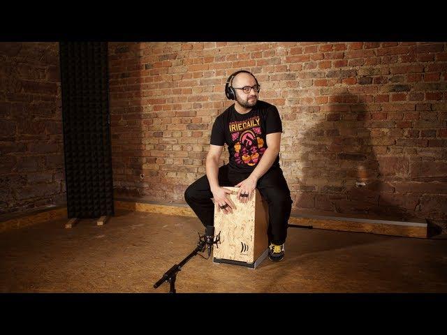 Modern Cajon Solo Drum Bass Style DADDI BAHMANI » Freewka.com - Смотреть онлайн в хорощем качестве