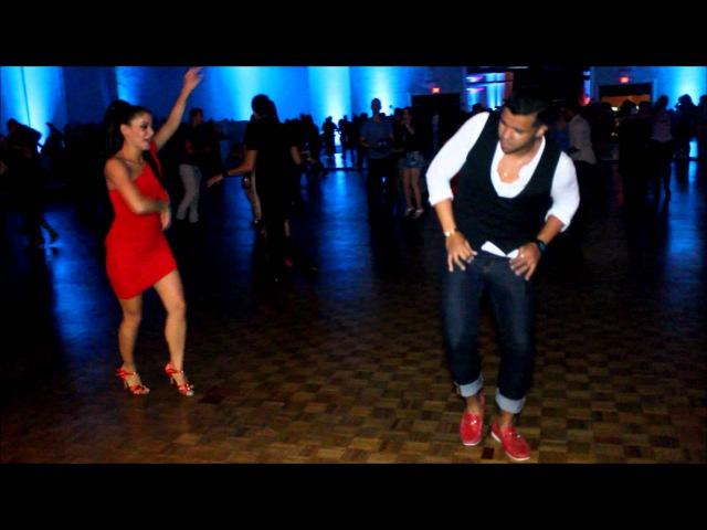 Shani Talmor Ernesto Bulnes Miami Salsa Congress 2012 Fri Social Dancing