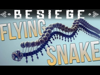 Besiege Alpha Vehicle Designs - Flying Snake - Realistic Tank - Best Besiege Vehicles [Download]