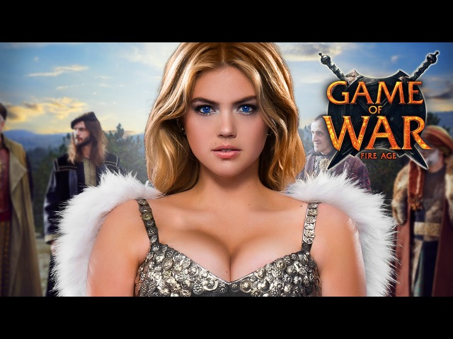 Game of War Full Live Action Trailer - EMPIRE ft. Kate Upton