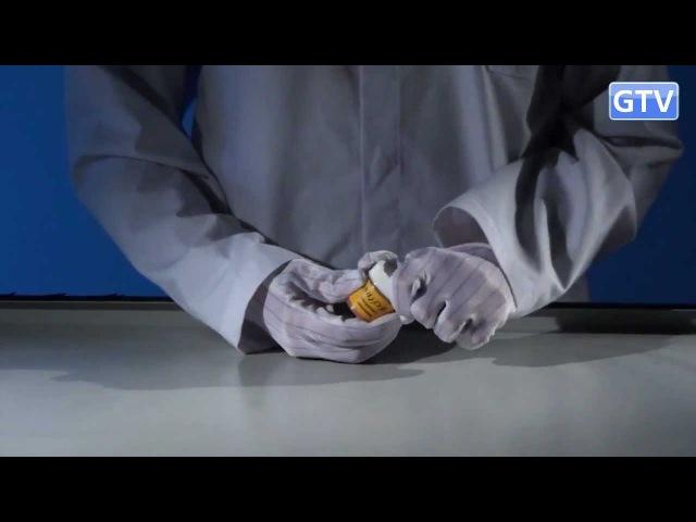 Вулкан из бихромата аммония - химические опыты