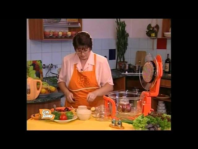 Рецепты аэрогриля Обед из трех блюд