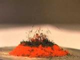 """""""Вулкан""""-разложение дихромата аммония"""