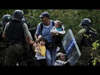 Миграционный кризис: полторы тысячи беженцев прорвались в Республику Македония