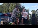 Андрей Гризли и Вахтанг качают. Лужники 28.07.2012