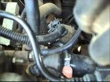 Замена термостата и прокачка системы охлаждения на Ладе калина