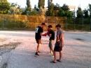 Бокс. Тренировка в Евпатории. Руслан и Артем. 3