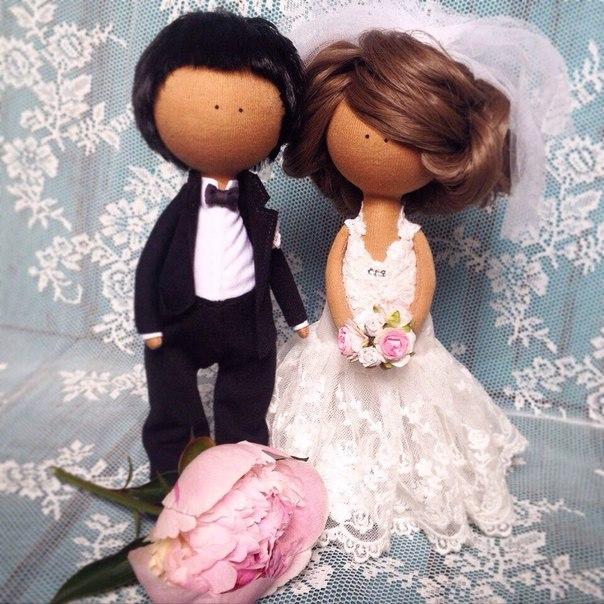 Своими руками невеста и жених кукла сшить 33