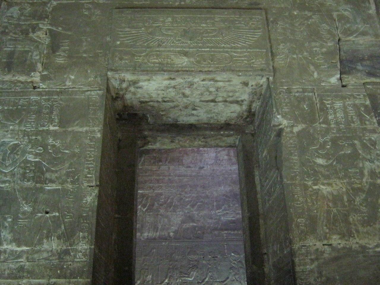 В одном из залов храма Хорус