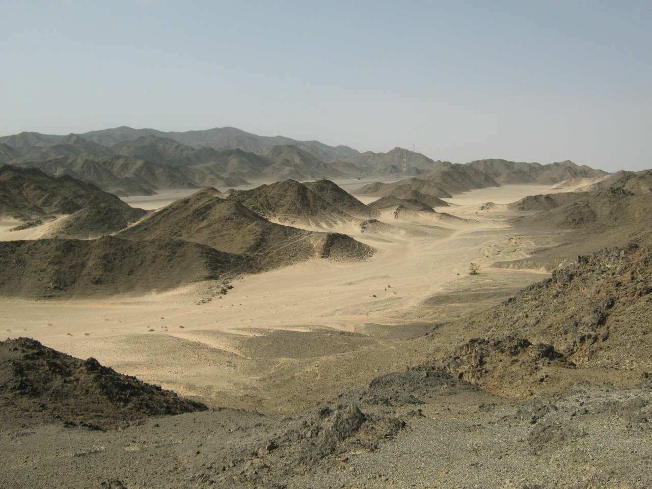 Пейзажи около Хургады