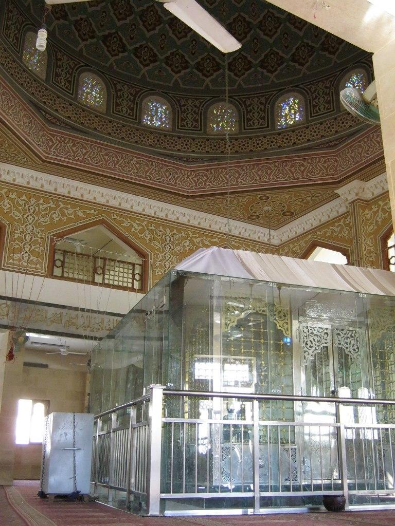 Гробница Шейха Шазли под куполом