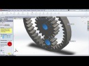 Designing Planetary Gear Drive in SolidWorks