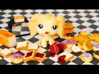 How to Make Doll Breakfast Breads: Toast, Sliced Bread, Bagel, Croissant, Doughnut, Jam