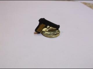 Макет пистолета ТТ миниатюрный