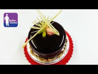 Как приготовить и украсить торт зеркальной шоколадной глазурью