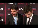 Интервью Себастиана и Джеймса Волка на мировой премьере «Политиканы»