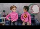 Как сделать свитер для куклы. How to make a sweater for a doll.