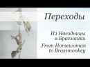 How to Horsewoman to Brassmonkey pole dance tutorial Уроки pole dance Из Наездницы в Брассманки