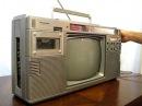 Panasonic TR-1200x TV/Boombox Demo