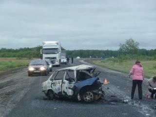 УЖАСНОЕ ДТП! Семь человек погибли в ДТП в Омской области на трассе Тюмень Омск
