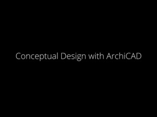 Conceptual Design with ArchiCAD® and the MORPH Tool