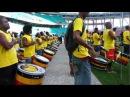 Olodum tocando o Hino Brasileiro um dia antes do BA VI da Arena Fonte nova 06 04 13