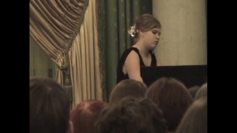 С В Рахманинов Прелюдия op 3 №2 до диез минор исполняет Ирина Ряполова
