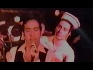 John Frusciante with Too Free Stooges in 1991 (As a Nurse)