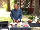 Огненная еда - Шашлык из семги. Салат из шампиньонов с пармезаном. Выпуск 27