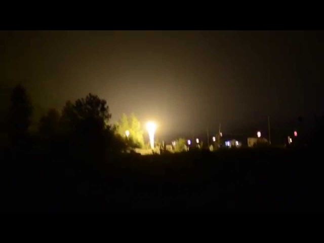 Ночная атмосфера фестиваля @ БытьДобру 2015