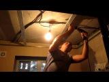 Пластиковые панели на потолке, каркас