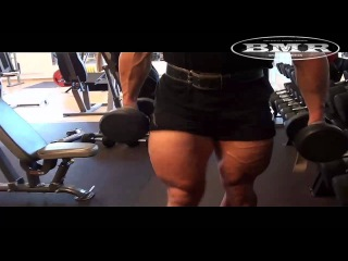 Insane leg workout with giant monster Swede