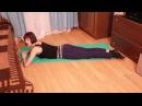 Как за 10 минут в день убрать лишний вес с ног Похудение ног